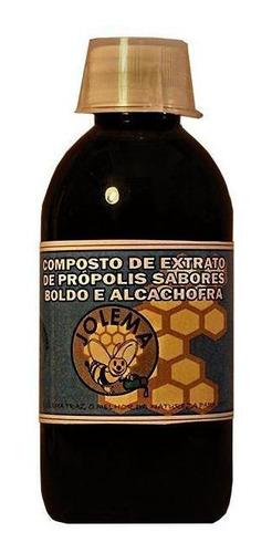 Composto De Extrato De Própolis Sabores Boldo E Alcachofra