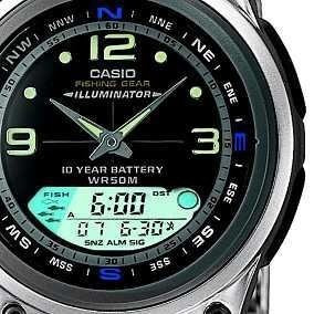 Relógio Masculino Anadigi Casio Aw-82-1avdf