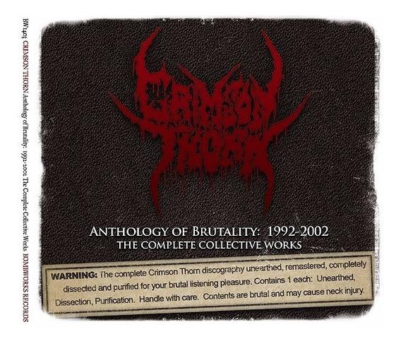 Crimson Thorn 3 Cd - Antestor Mortification