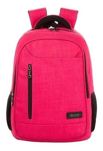 Mochila Reforzada Porta Notebook Quaglia Mujer Qs310 Cuotas