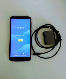 Celular Motorola Moto G6 Plus 64 Gb Dual Indigo Usado Exc.