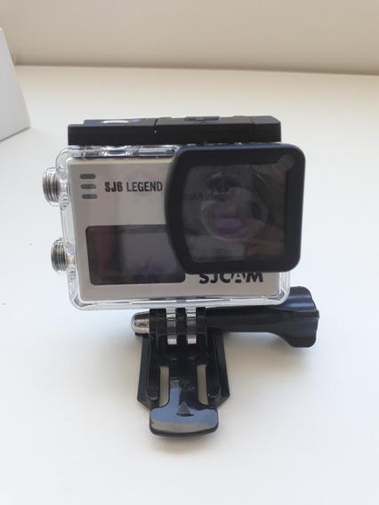 Câmera Sjcam Sj6 Legend Action 4k Wifi Cor Prata Original