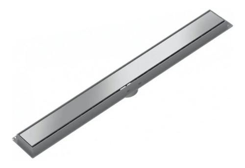 Imagen 1 de 4 de Rejilla Lineal Acero Inoxidable 70cm Tigre Desague Moderno