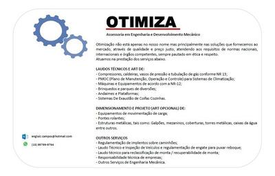 Engenheiro Mecânico Projeto Art Laudo Técnico Nr 12 E 13