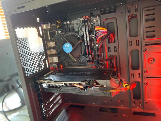 Computador Pc Gamer I7 7700 Gtx 1060 16gb Ddr4 1tb Hd, Leia!