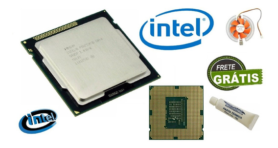 Processador + Cooler G-840 Pentium Dual Core 2.80 Ghz 1155