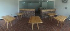 Muebles En Madera Pino Para Restaurantes, Cafe, Entre Otros