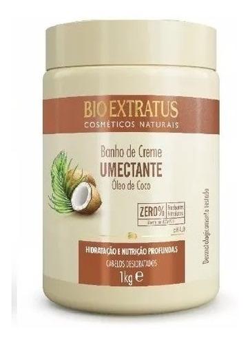 Imagem 1 de 1 de Banho De Creme Bio Extratus Umectante Óleo De Coco 1 Kg