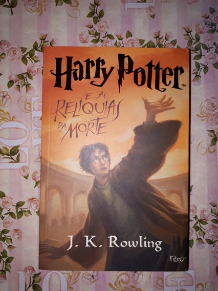 Livro Harry Potter E As Relíquias Da Morte - Novo