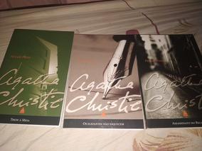 Kit 3 Livros De Agatha Christie, Melhor Autora Detetive