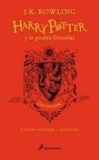 Harry Potter Y La Piedra Filosofal. Gryffindor (20 Años) (td