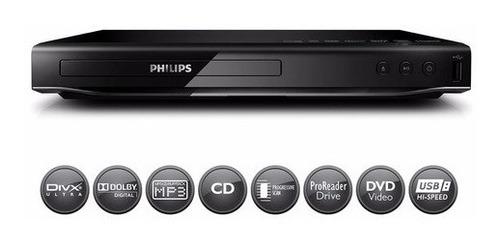 Reproductor Dvd Philips Dvp 2850 Divx Ultra Usb 2.0 Mp3