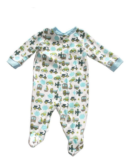 Mono O Pijama De Bebe Niño Genial