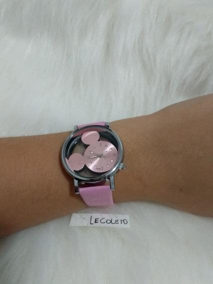 2 Relógios Mickey Feminino