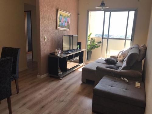 Apartamento Com 2 Dormitórios, 2 Vagas, Último Andar Em Osasco - 14862