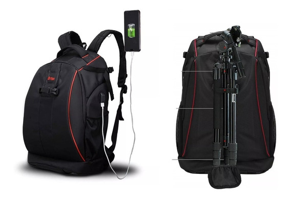 Mochila Profissional Fotografica Camera Case Bag Ortex