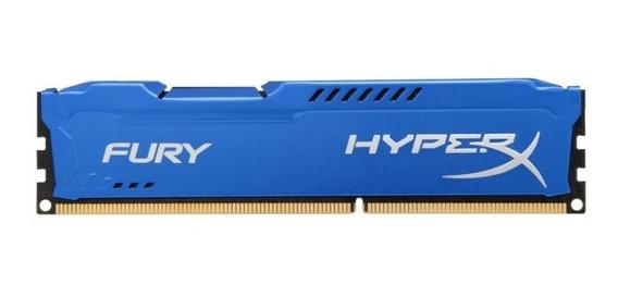 Memoria Ddr3 4gb 1600mhz Kingston Hyperx Azul Hx316c10f/4