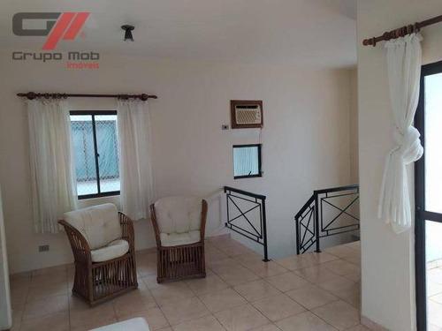 Cobertura Com 3 Dormitórios À Venda, 140 M² Por R$ 480.000 - Tenório - Ubatuba/sp - Co0005