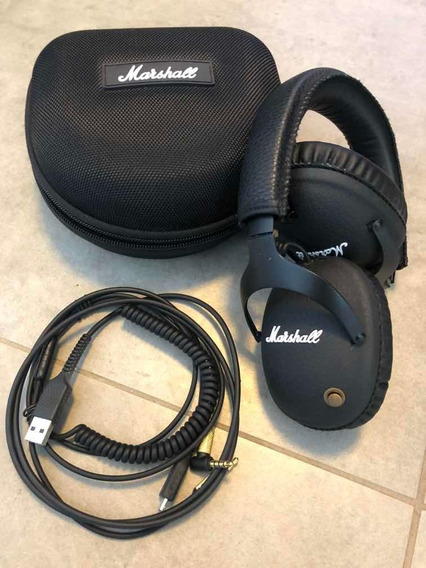 Headphone Marshall Monitor Bluetooth