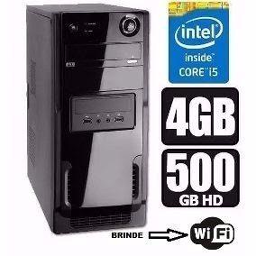 Cpu Intel Core I5-500gb-4gb-fonte 600w+win 10 Pro