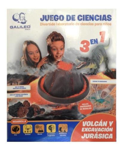 Imagen 1 de 6 de Volcán Y Excavación Jurásica Celex