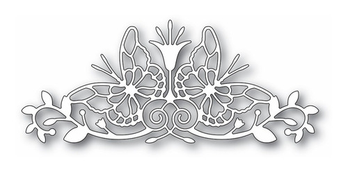 Memory Box Sofia Butterfly Border Craft Die (facas)p/bigshot