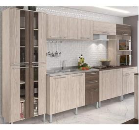 Cozinha Completa Modulada Lia 14 Portas E 4 Gavetas - Elmo
