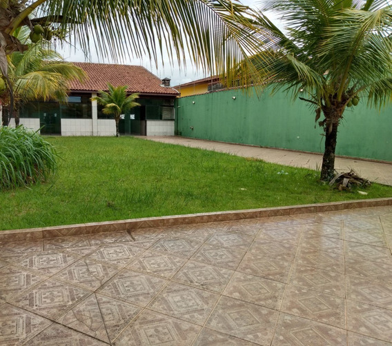 Terreno Praia Itanhaém Com Salão Social De 120 Mts² -