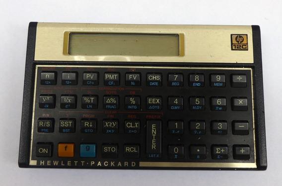 Calculadora Hp 12c / 12 C Não Funciona Leia Descrição