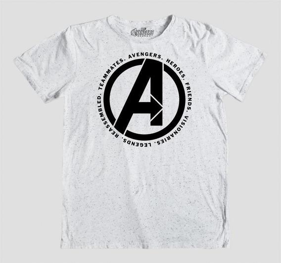 Máscara De Latex Playera Avengers Endgame Logo
