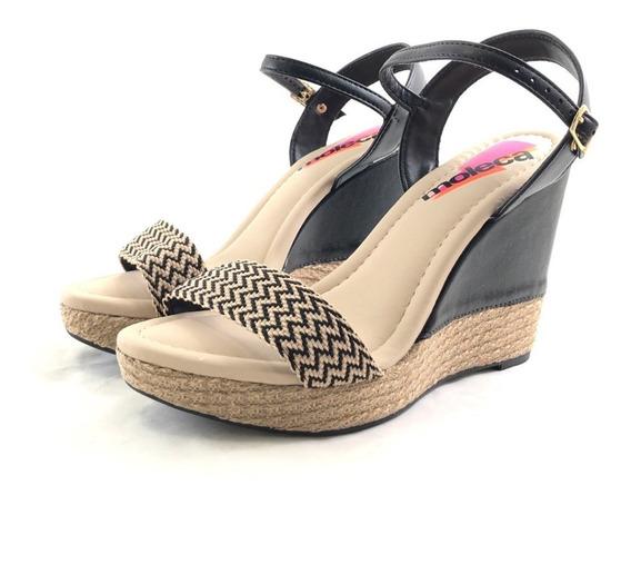Moleca 5411-320 Sandalia Ultima Moda El Mercado De Zapatos!!