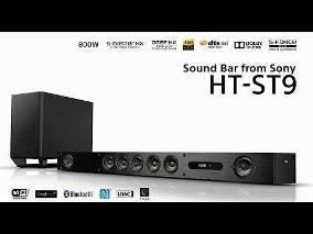 Soundbar Sony Ht St9 7.1 4k Sensacional Completa