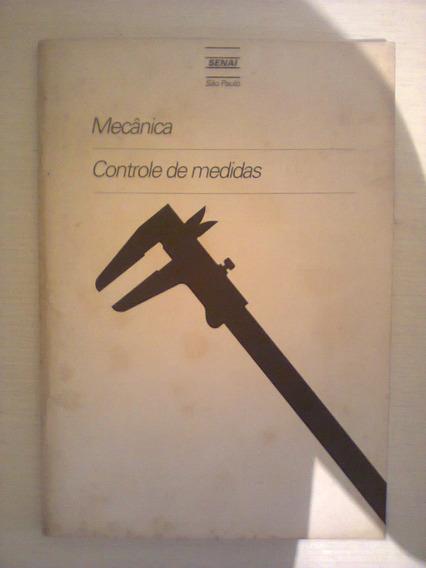 Mecânica Controle De Medidas - Senai - São Paulo - 1992
