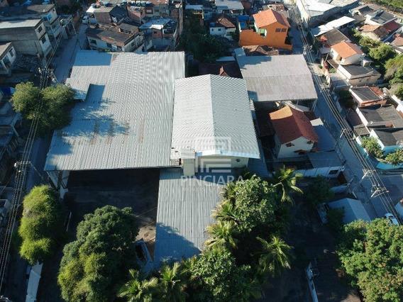 Galpão Comercial, 2400 M² Por R$ 4.500.000 - Estrela Do Norte - São Gonçalo/rj - Ga0008