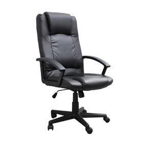 Cadeira P/ Escritório Giratória Estofada Trevalla Preto