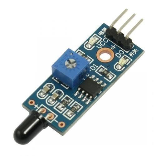 Sensor Digital Detector De Fogo Pic Arduino Chamas