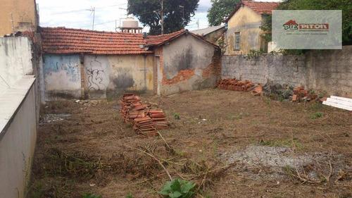 Terreno À Venda, 360 M² Por R$ 850.000,00 - Vila Nova Savoia - São Paulo/sp - Te0131