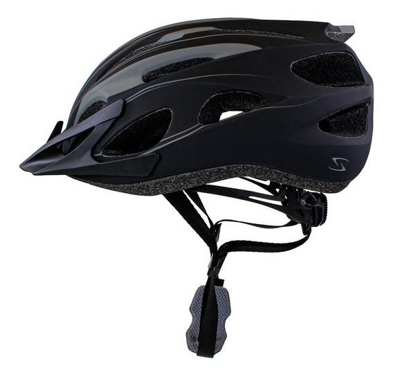 Casco Ciclismo Serfas Vault Negro/gris