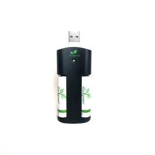 Cargador Usb Baterias Recargables 2 Pilas Aa Energizer Sony