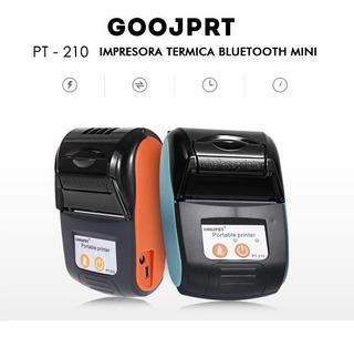 Impresora Mini Bluetooth Termica Recibos Pos Celular 58mm