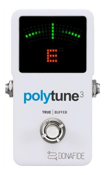 Pedal Tc Electronic Polytune 3 Chromatic