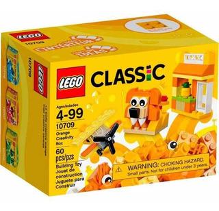 Lego Classic 10709 Orange Creativity Box - Incluye Ideas