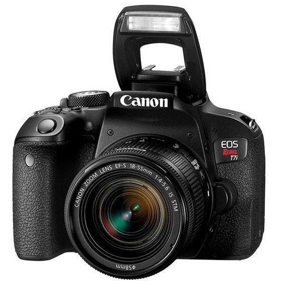Canon Eos Rebel T7i Kit 18-55mm Is Stm + Brinde + Nf-e