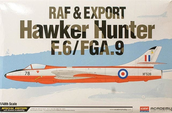 Academy Avion Raf & Export F.6/fga.9 1/48 Supertoys
