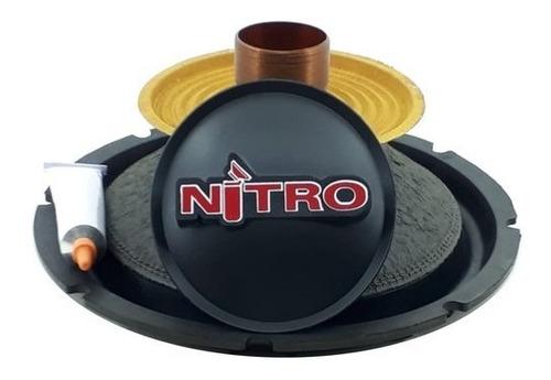 Kit Reparo Spyder Nitro 8 Polegadas 300 Rms 4 Ohms Original