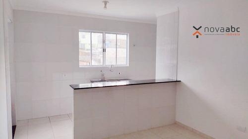 Apartamento Com 1 Dormitório Para Alugar, 35 M² Por R$ 1.250/mês - Vila Palmares - Santo André/sp - Ap3566