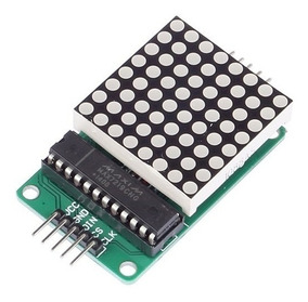 Módulo Display Matriz De Led 8x8 C/ Max7219