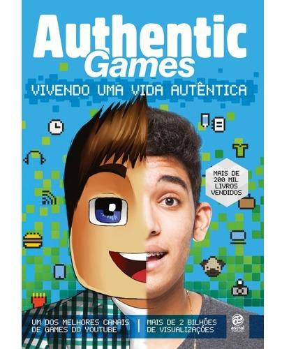 Livro Authentic Games - Vivendo Uma Vida Autêntica Minecraft