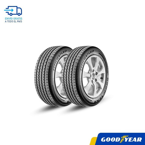 Combo X2 -goodyear 215/60 R17 Efficient Grip - Vulcamoia Mdp