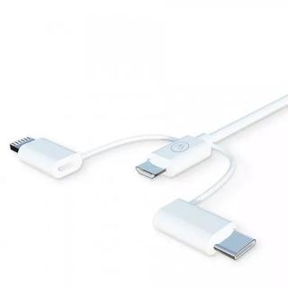 Novo Cabo Iwill 3x1 iPhone Usb Micro Usb Lançamento Garantia